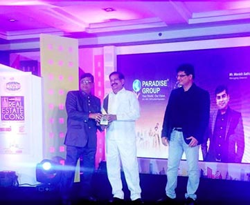 Paradise Group awarded as Iconic Developer of Navi Mumbai