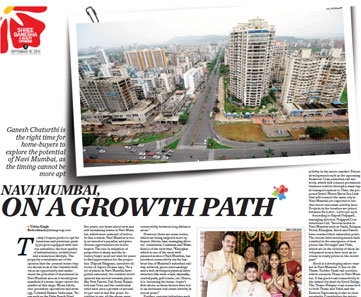 Navi Mumbai on a growth path