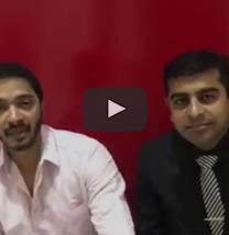 Renowned celebrity Shreyas Talpade talking about Paradise Group